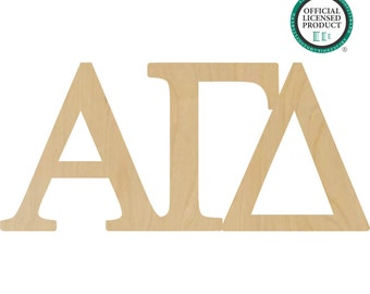 Alpha Gamma Delta Greek Letters Connected - Alpha Greek Letters, Gamma Greek Letters, Delta Greek Letters, Gamma Delta Letters - A11050618