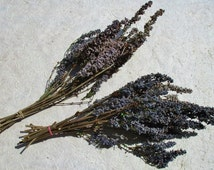 Dried Purple Lilac Flowers, Floral Wreath Supply, Dried Flower Arrangement, Naturally Dried Flower Bunches On Stems, Wiccan Pagan Herbs