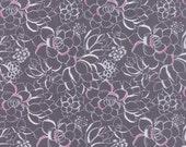 Moonlight Grey Succulent Canyon Fabric -  Moda - Kate Spain - 27221 24