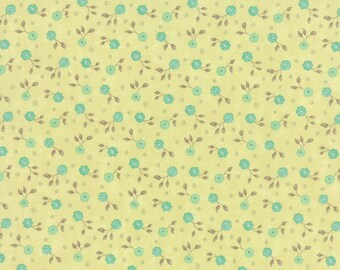 Green Small Flower Refresh Fabric - Sandy Gervais - Moda - 17866 14