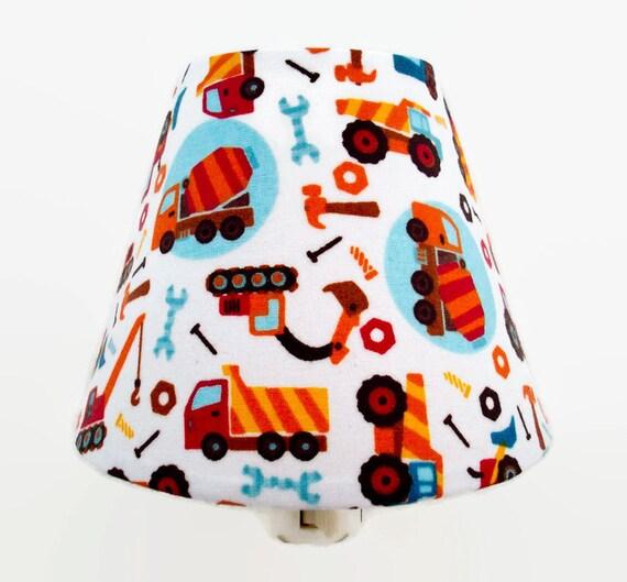 Boy Truck Lamp : Construction truck night light boys nursery decor kids