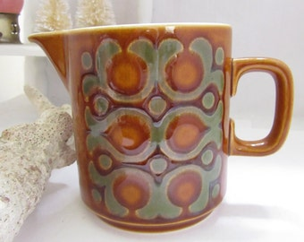 Vintage Mid 70s Cream Pitcher Milk Pitcher Coffee Set Bronte 1975