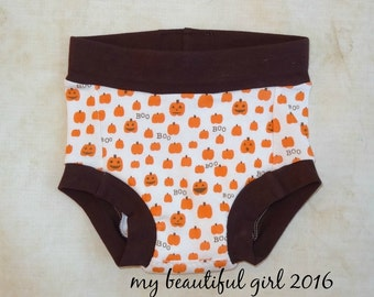 Pumpkin Boo... GROW with ME Training Pants - Size Small Instock