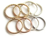 For Sensitive Ear Nickel Free 18gauge Small Hoop Ring Earring, One ( 1 ) Single Hoop