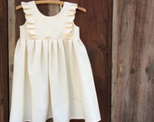 Flower girl dress- custom order                First communion dress graduation dress 1st communion dress baptism dress wedding kindergarten
