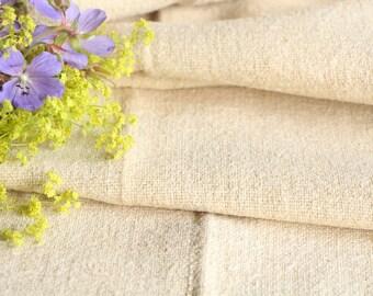 R 34 antique hemp linen decorative PLAIN 4.59yards upholstery 23.62 wide  handloomed benchcushion