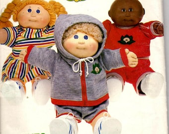 Vintage Sewing Pattern - Butterick 6511 - Clothes For Your Cabbage Patch Kids