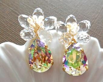 Gold Earrings Sakura Princess - Gold Filled
