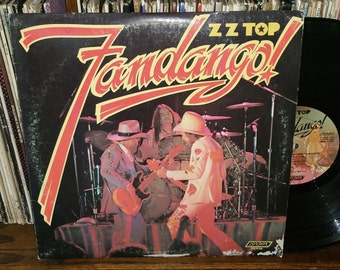 ZZ Top Fandango Vintage Vinyl Double Album