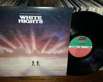 White Nights Vintage Vinyl Soundtrack Record