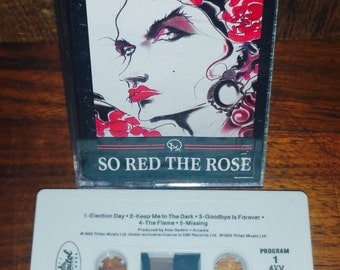 Arcadia So Red The Rose Vintage Cassette Tape