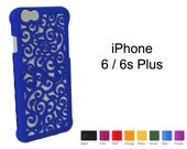 Made-To-Order Regular iPhone 6s / 6 (4-8 weeks) Designer Victorian Filigree Swirl Puzzle Case - 8 color options