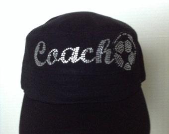 Coach Cap in Rhinestones