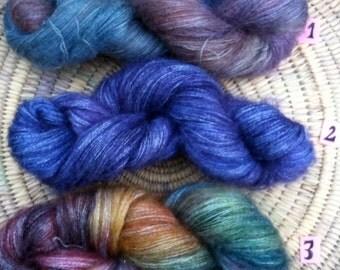 Mohair Merino Lace Weight Yarn