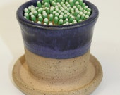 Ceramic Match Striker Fireplace accessories candle lighter Purple In Stock Ready to Ship
