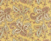 SALE  Larkspur by 3 sisters for Moda  Paisley in Straw  1 yard   YES!! Continuous fabric cuts and combined shipping
