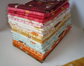 NEW Heather Ross Mendocino Fat Quarter set