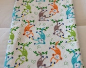 Ready to Ship  Soft and Cozy Flannel Receiving Blanket