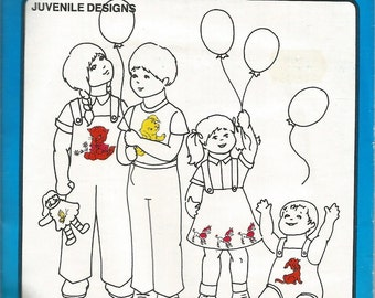 Vogart Repeat Transfer Patterns, Juvenile Designs, no 240, Puppies Kittens, Sewing Supplies, Embroidery Patterns, Ball Point Painting,Crafts