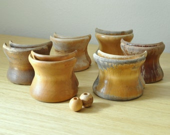 set of twelve vintage chemex cuffs