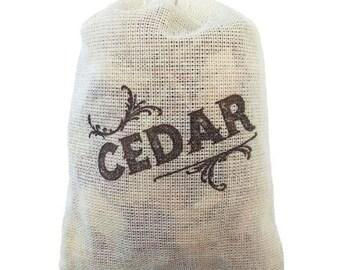 Cedar Sachet - 3 Pack for Closet, garment bag or Drawer