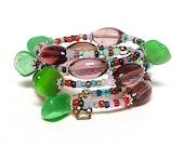 BUBBLE coil Beaded Bracelet by Beading Divas Fundraiser