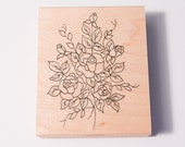 Great Impressions Rose Bouquet stamp
