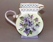Purple Violet Pitcher