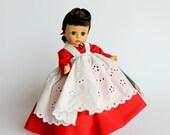 Vintage Madame Alexander Alexanderkin Doll Jo Bent Knee 1972