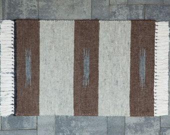Hand Woven 2 x 3 Llama Rug (#S4)
