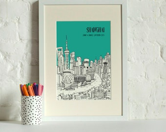 Personalised Shanghai Print