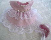 "Ginny 8"" Doll Clothes, ""Reese"" Dress and Bonnet"