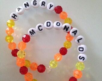 Food Word Bracelet