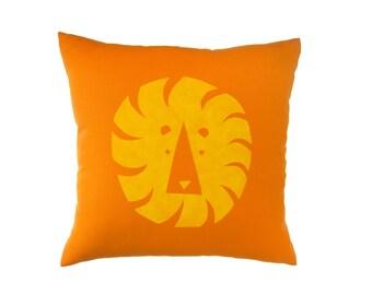 Geo Lion Pillow