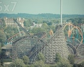 Hersheypark Roller Coasters and Rides Print