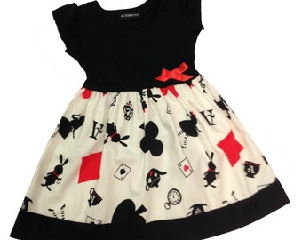 Alice in Wonderland Baby Dress