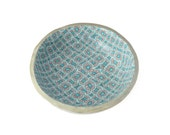 Turquoise Ring Dish - Trinket Tray - Decorative Bowl - Ring Holder - Jewelry Storage - Gifts for Her - Gifts for Home - House Warming Gift