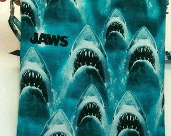 Jaws purse, messenger/cross body bag handmade