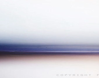 Zen Sea,  Custom photography, museum paper, violet, wall hanging, modern photography, contemporary photo