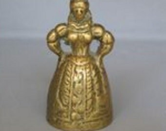 Brass Antique Lady Bell