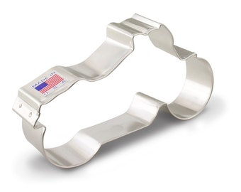 """Motorcycle Cookie Cutter, 5"""", Biker cookie cutter, police cookie cutter"""