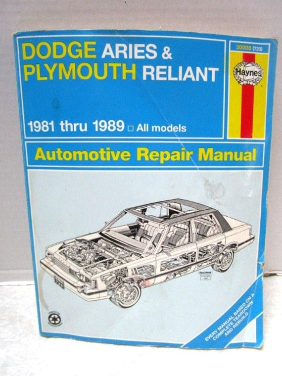 89 plymouth reliant engine diagram