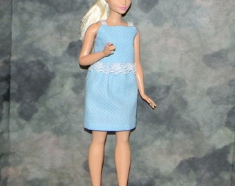 CB1-03) the NEW Curvy Barbie doll clothes, 1 skirt with crop top