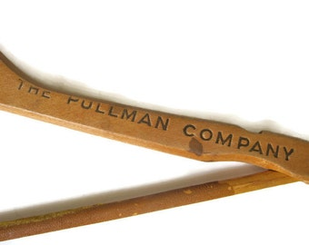 The Pullman Company Vintage Wood Hanger, Property of The Pullman Company, Train Railroad Collectibles