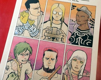 COPRA ROUND THREE, Signed Edition of First Printing