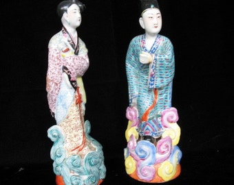 Chinese figurines from 1930's Price is for Pair
