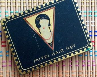 Art Deco Tin:  Mitzi Hair Net