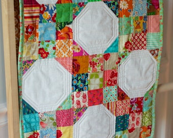 Modern Quilt Table Runner