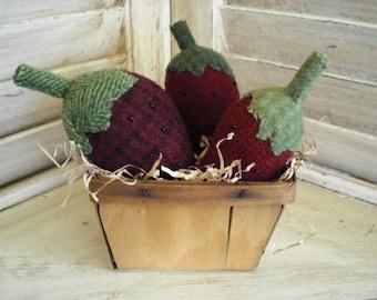 Wool Strawberries