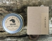 Island 8 oz Mason Jar Soy Candle Rustic Hand poured